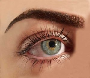 Lash Lift Limassol Cyprus Liliana Green Eyes