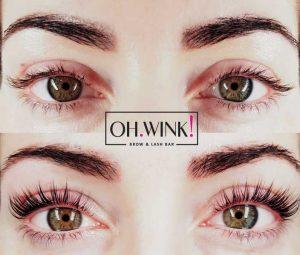 Lash Lift green eyes Cyprus Results