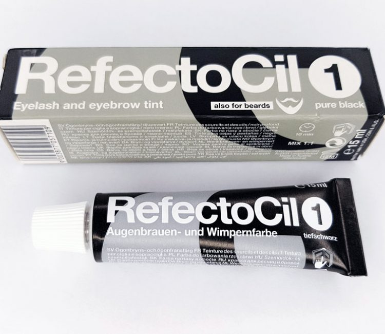 Refectocil Black Lash Brow Tint